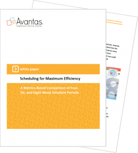 scheduling for max efficiency_combined