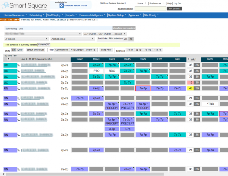 Healthcare Scheduling Software - Smart Square